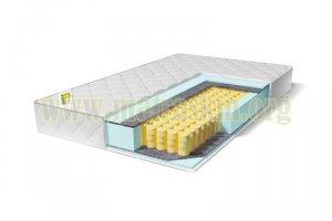 Матрас Барский на независимом пружинном блоке (256 пружин/м²) - Мебельная фабрика «Матраскин»