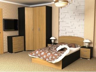 Спальня  Морское дерево дуб янтарный - Мебельная фабрика «Феникс-мебель»