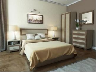 Спальня КВАДРО 1 модульная - Мебельная фабрика «Баронс»