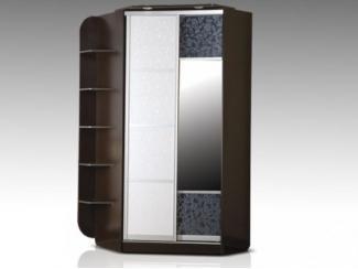Угловой шкаф-купе с полочками - Мебельная фабрика «Восток-мебель»