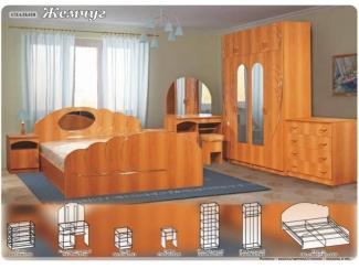 Спальный гарнитур Жемчуг - Мебельная фабрика «Поволжье», г. Пенза