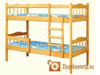 Кровать двух ярусная Сашенька