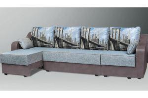 угловой диван  Оливия 3 - Мебельная фабрика «Карина»
