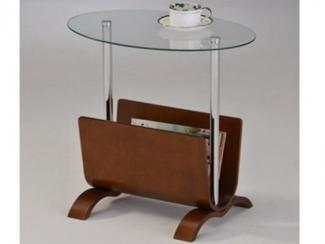 Стол журнальный с газетницей-1668 - Импортёр мебели «МебельТорг»