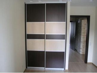 Шкаф-купе комбинированный   - Мебельная фабрика «Интерьер»