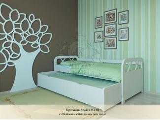 Кровать Валенсия с двойным спальным местом - Мебельная фабрика «Каприз»