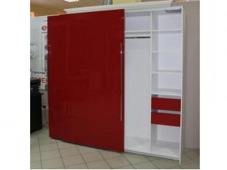 Красный шкаф-купе  - Мебельная фабрика «Симбирский шкаф»