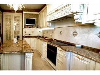 Красивая кухня из массива - Мебельная фабрика «Мебель Продакшн (Мастерская мебели)»