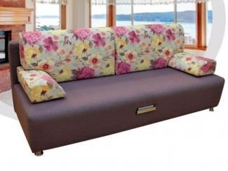 Уютный диван с цветами Комфорт плюс