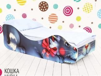 Кровать детская Кошка Мурка - Мебельная фабрика «Бельмарко»