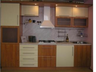 Кухонный гарнитур прямой 38 - Мебельная фабрика «Л-мебель»