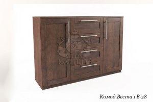 Комод Веста 1 В-28 - Мебельная фабрика «Каприз»