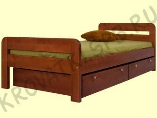 Кровать Бавария - Изготовление мебели на заказ «Кроватки СПб», г. Санкт-Петербург