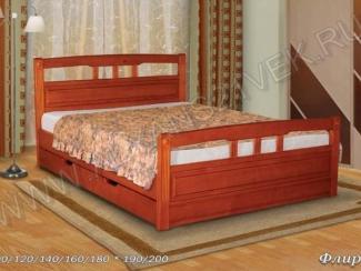 Кровать Флирт 1 - Мебельная фабрика «Альянс 21 век»
