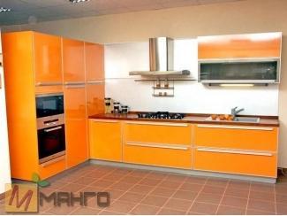 Оранжевая кухня Бализ - Мебельная фабрика «Манго»