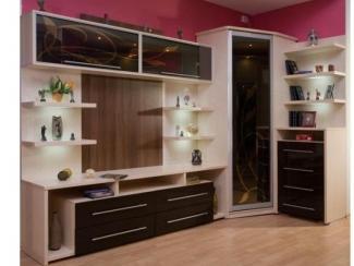 Гостиная стенка с угловым элементом - Изготовление мебели на заказ «Мега»