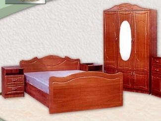 Спальный гарнитур Ангара 40 (МДФ) - Мебельная фабрика «Элна»