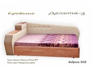 Кровать с подъемным механизмом  Дельта 3 - Мебельная фабрика «ВЭФ»