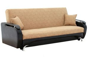 Линейный диван Викинг с накладками  - Мебельная фабрика «Ассамблея»