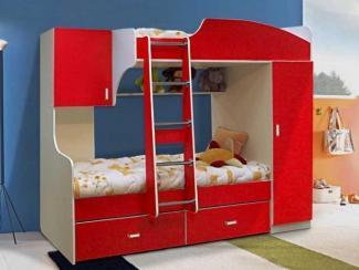 детская кровать 2х ярусная 4 - Мебельная фабрика «Элфис»