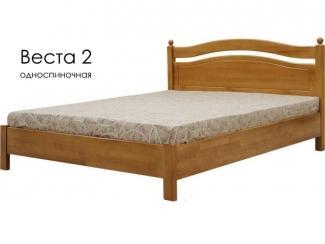 Кровать Веста 2 - Мебельная фабрика «Массив»