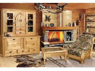 Мебель в гостиную из массива Lagos - Мебельная фабрика «Домашняя мебель»