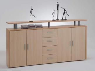 Комод комбинированный 4ящика+ 4 двери - Мебельная фабрика «Висма-мебель»