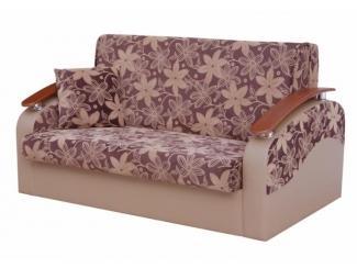 Классический диван с деревянными ручками Лидия 5