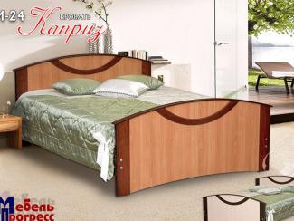 Кровать «Каприз» М-24 - Мебельная фабрика «Мебель Прогресс»