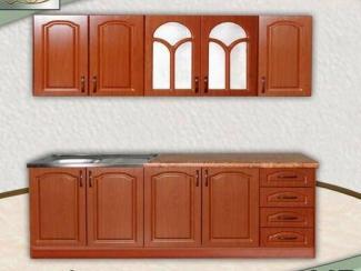Кухня прямая Лилия 2 (МДФ) - Мебельная фабрика «Элна»