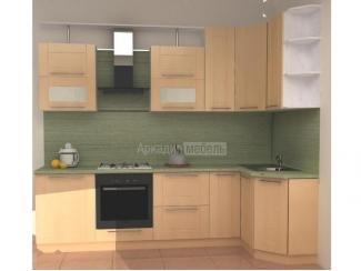 Кухня Арт-Модерн 9 эконом класса на заказ - Мебельная фабрика «Аркадия-Мебель»