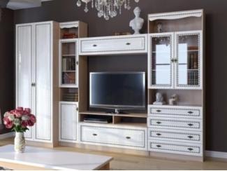 Невысокая белая гостиная Эльза  - Мебельная фабрика «Фран»