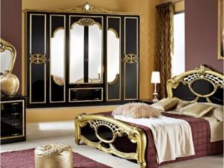 Спальный гарнитур «Ольга золото» - Оптовый мебельный склад «Дина мебель»