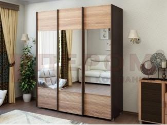 Шкаф-купе с зеркалами 3 створки - Мебельная фабрика «Лером»