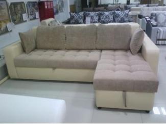 Угловой диван Валенсия c оттоманкой - Мебельная фабрика «Донской стиль»