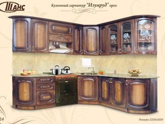 Кухонный гарнитур угловой Изумруд - Мебельная фабрика «Шанс»