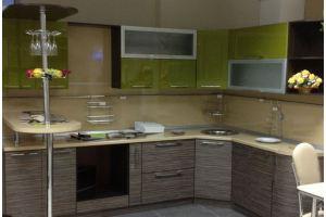 Угловая кухня с барной стойкой - Мебельная фабрика «МиАн»