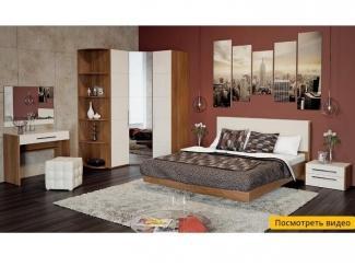 Спальня с угловым шкафом Вирджиния  - Мебельная фабрика «ТриЯ»