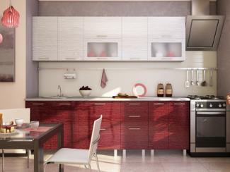 Кухня прямая Анже пластик - Мебельная фабрика «Вариант М»