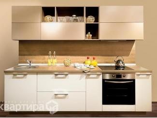 Прямой кухонный гарнитур Эрика - Мебельная фабрика «Камеа (Квартира 48)»
