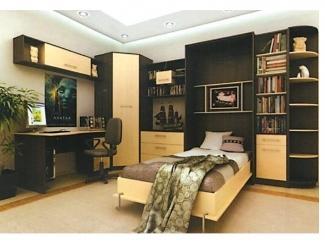 Кровать-шкаф подъемная  1 - Мебельная фабрика «Альфа-М»