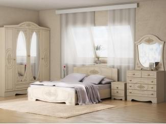 Спальный гарнитур Натали-1 - Мебельная фабрика «Успех»