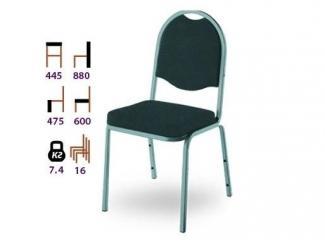 Черный стул Логос - Мебельная фабрика «Реванш СПБ»