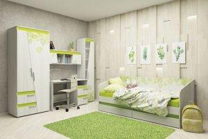 Комплект мебели для детской Эко - Мебельная фабрика «Аквилон»