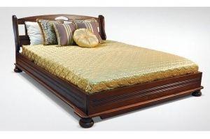 Эксклюзивная кровать Палермо из бука - Мебельная фабрика «Авангард»