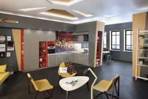 Эксклюзивный дизайн кухни Лотта  - Мебельная фабрика «Кухонный двор» г. Малаховка