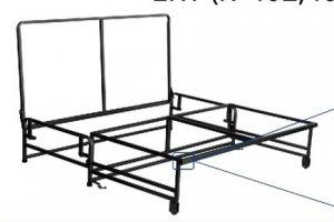 Механизм трансформации ЕКТ 402 406 - Оптовый поставщик комплектующих «Кузнецкий завод мебельной фурнитуры»