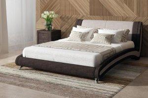 Элегантная интерьерная кровать RIMINI - Мебельная фабрика «Sonum»