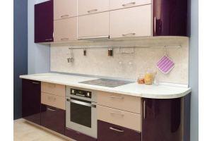 Элегантная кухня Софт с плавными линиями - Мебельная фабрика «Хомма»