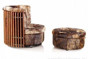 Элитное поворотное кресло Isle d palm - Импортёр мебели «Arredo Carisma»